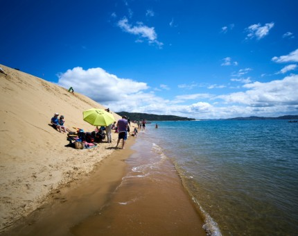 Club party on the Hokianga Sand Dunes